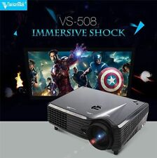 SV-508 6000 Lumens Smart LED Projector Home Theater USB TV Full HD 1080P VGA 3D