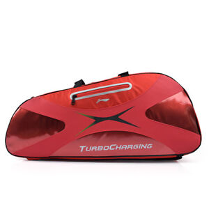 LI-NING-Badminton-Bag-2-Pack-Backpack-Red-Racquet-Racket-Shuttlecock-ABDC004-2