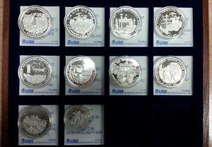 10x-Medaille-Einigkeit-und-Recht-und-Freiheit-999-Silber-mit-Zertifikat