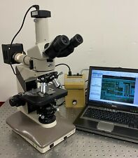 Nikon Labophot 2 M Nomarski Dic Metallurgical Trinocular Microscope