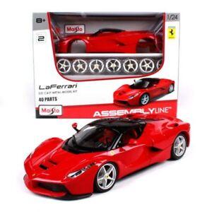 Maisto-Ferrari-LaFerrari-Diecast-Metal-Model-Kit-1-24-Scale-39129
