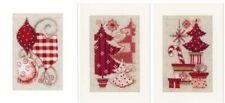 Vervaco tarjeta de navidad stickset punto de cruz weihnachtssymbole pn-0154080