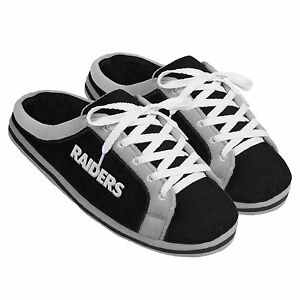 c5e6904d4eaa Image is loading Oakland-Raiders-Sneaker-Slide-Slippers-NFL-New-Style
