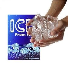 Zauber Trick Wasser Nach Eis Wenden Groß