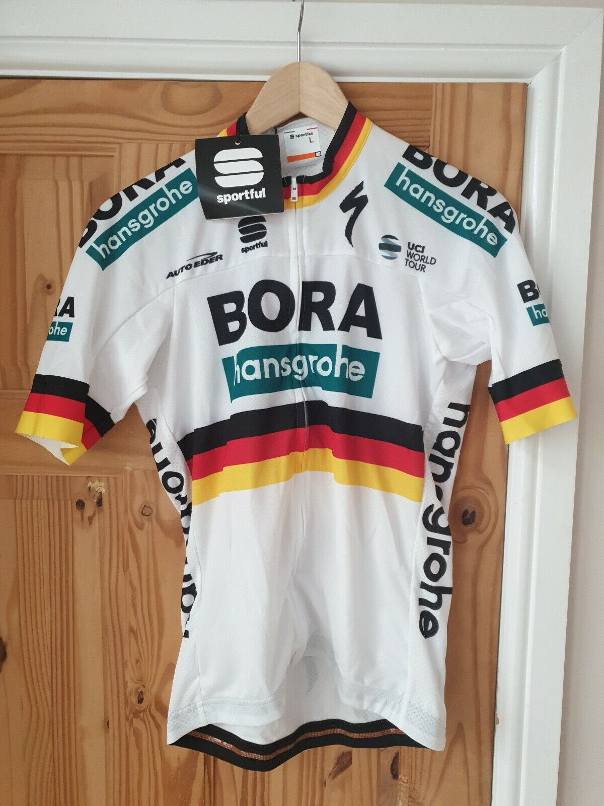 Deportes  Bora hansgrohe, Body FIT, BF Team pro Thermal Jersey, L 35, Box 47.