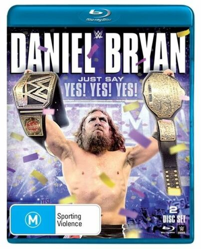 1 of 1 - WWE - Daniel Bryan - Just Say Yes! Yes! Yes! (Blu-ray, 2015, 2-Disc Set)