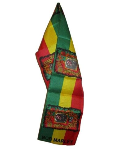 """Marjiuana Rasta Weed Lightweight Flag Printed Knitted Style Scarf 8/""""x60/"""""""