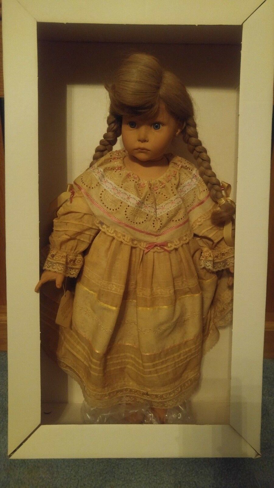 Doll Tricia  by Hildegard Gunzel 24in Vinyl