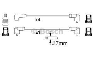 0986356844-Bosch-HT-Cables-De-Encendido-Conjunto-de-Silicona-B844-Nuevo-Bujia-conduce