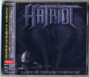 HATRIOT-Dawn-Of-The-New-Centurion-Japan-CD-Bonus-Track-f75