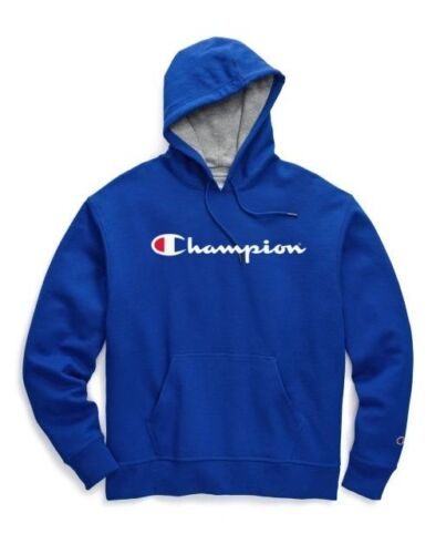 Champion Powerblend Men/'s Pullover Hoodies Script Logo GF89H Y06794