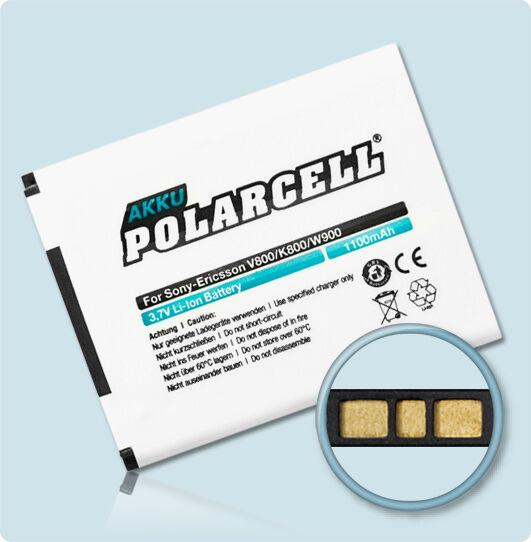 PolarCell Batería para Sony Ericsson K800i K810i C702 C903 K550i F305 bst-33