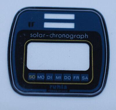 Symbol Der Marke Ruhla-eurochron / Original Ersatzglas / Nos (g005) Gut FüR Antipyretika Und Hals-Schnuller
