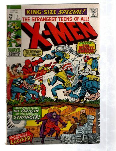 Uncanny X-Men Special # 1 VF Marvel Comic Book Avengers Magneto Beast PG2
