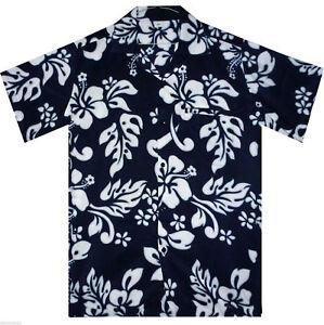 Funky-Hawaiihemd-Hibiscus-Verschiedene-Farben-Verschiedene-Groessen