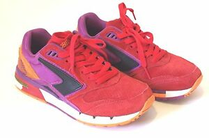 7b83b8e7248 Image is loading Brooks-Fusion-Heritage-Running-Shoes-Fashion-sneakers-Red-