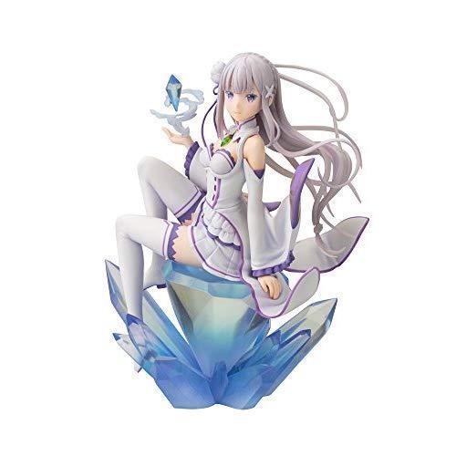 Kotobukiya Re  Zero -Starting Life in Another World- World- World- Emilia (Repro) ANI Statue A 6998b3