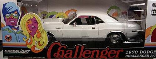el mejor servicio post-venta 1 18 verdelight - 1970 Dodge Challenger R T - - - Vanishing Point - Rareza  70% de descuento