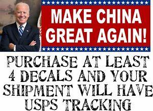 "Anti /""Joe Biden/"" bumper stickers"