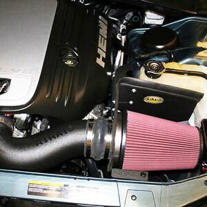 Cold Air Intake Kit RED Filter For 05-10 Chrysler 300 //Challenger 5.7L//6.1L V8