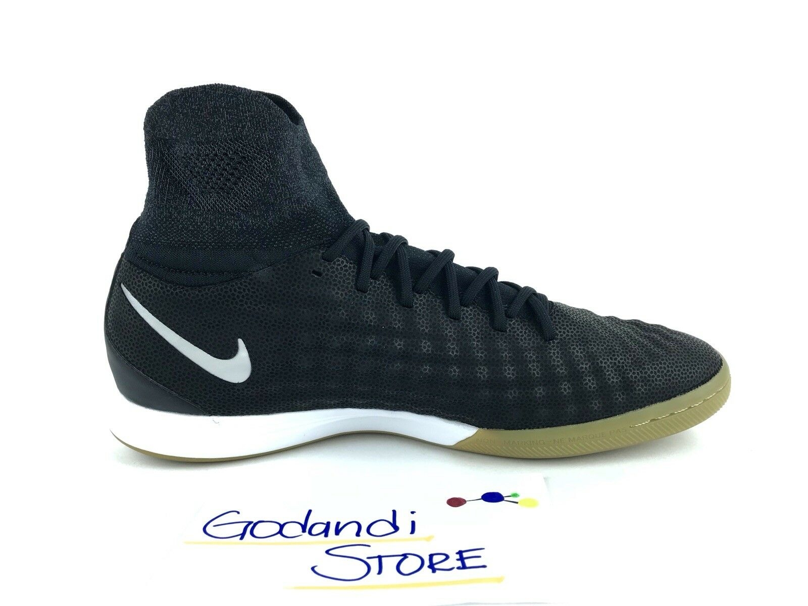best service b893f ee543 ... NIKE Men Soccer Shoes S 12 Magistax Proximo II TC TC TC IC Tech Craft  Black ...