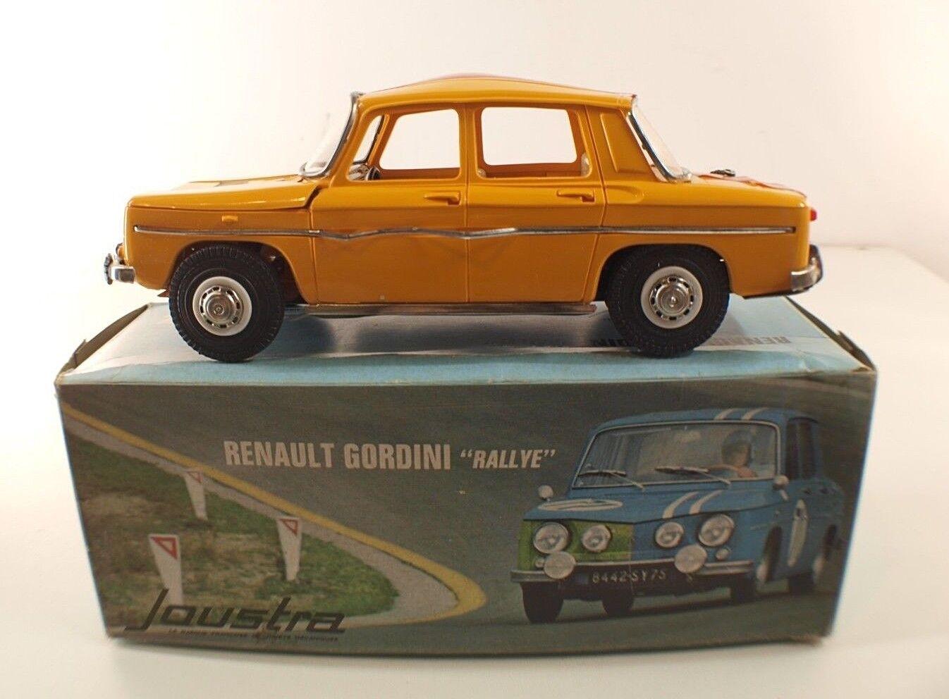Joustra Nr. 2167 Renault 8 Gordini Rallye Aufbau Carlo Links Friction Schachtel