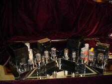 Pair Vintage  Radio Craftsmen 500 Tube Amps 2nd Version Western Electric Patent
