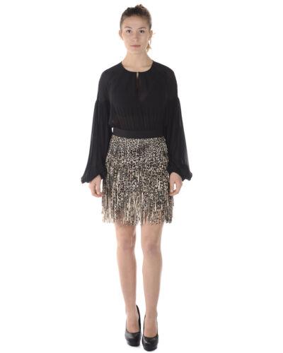 Vestito Elisabetta Franchi Dress MADE IN ITALY Donna Nero AB7503867 H76