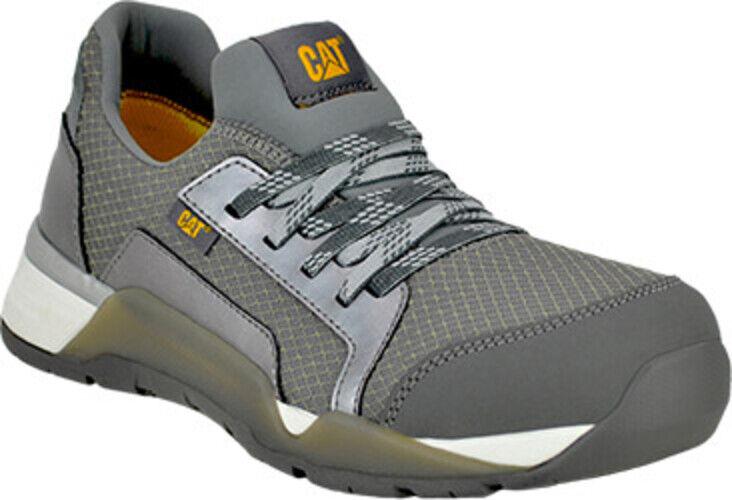 CAT Women's Sprint Textile Alloy Toe WP Work Shoe - Charcoal - P91191 Size 7