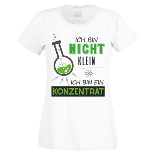 """T-shirt Modèle /""""Je ne suis pas petit-Je suis un concentré/"""" 100/% coton"""