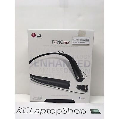 New! LG Tone PRO HBS-780 Bluetooth Wireless Stereo Headset Black - Free Shipping