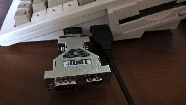 Super Amiga Atari ST c64 c128 Commodore Maus Gamepad Joystick USB Adapter Tom +