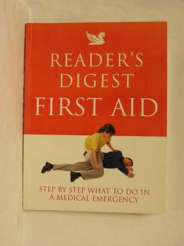"1 of 1 - ""Reader's Digest"" First Aid: Complete A-Z of Medicine and Health, , New Book"