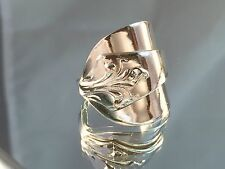 Legally Sold Solid Sterling Silver Spoon Rings 1968 J.Elliot & Sons Sizes MQRST