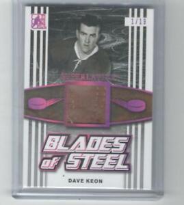 2017 ITG Superlative Blades of Steel Dave Keon 1/19 BS-06