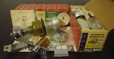 Vintage Yale cylindrical Lock brushed aluminium-Lichfield-LF5307