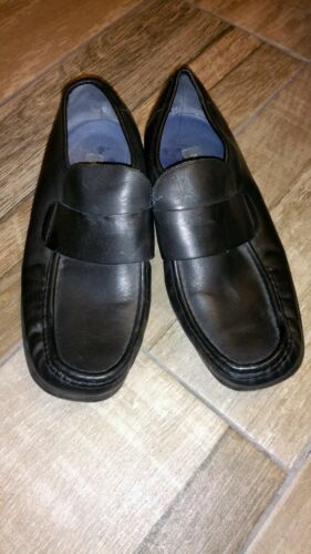 Leather 9 Next Men Black Shoes Uk Faux Size Soft Formal N8PwXnO0k