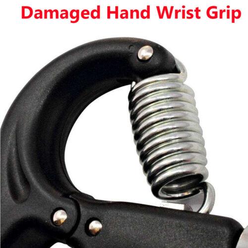 2x Adjustable Hand Grip 5-40KG Power Wrist Strength Forearm Training Exerciser