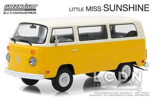 Little Miss Sunshine 1978 Volkswagen T2 Bus 84081 1 24 GREENLIGHT