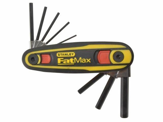 Stanley Tools - Juego de bloqueo de llave hexagonal FatMax® de 8 (1.5- 8 mm)