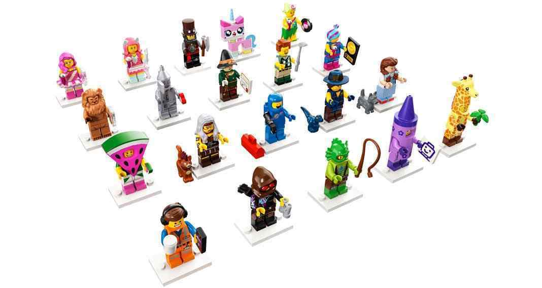 The Lego Movie 2 Series Minifigures Wizard of Oz 71023 Complete Set of 20