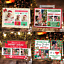 Personalised-Christmas-Cards-Xmas-Photo-Folded-Postcards-Boy-Girl-Children-Pack thumbnail 1
