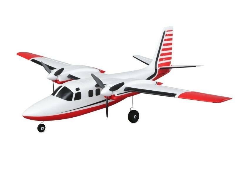 E-flite UMX Aero Commander 715mm as3x BNF Basic-EFLU 5850