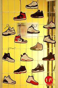 Air Jordan Sneaker Car Air Freshener, exactly the same in Chris Brown's car