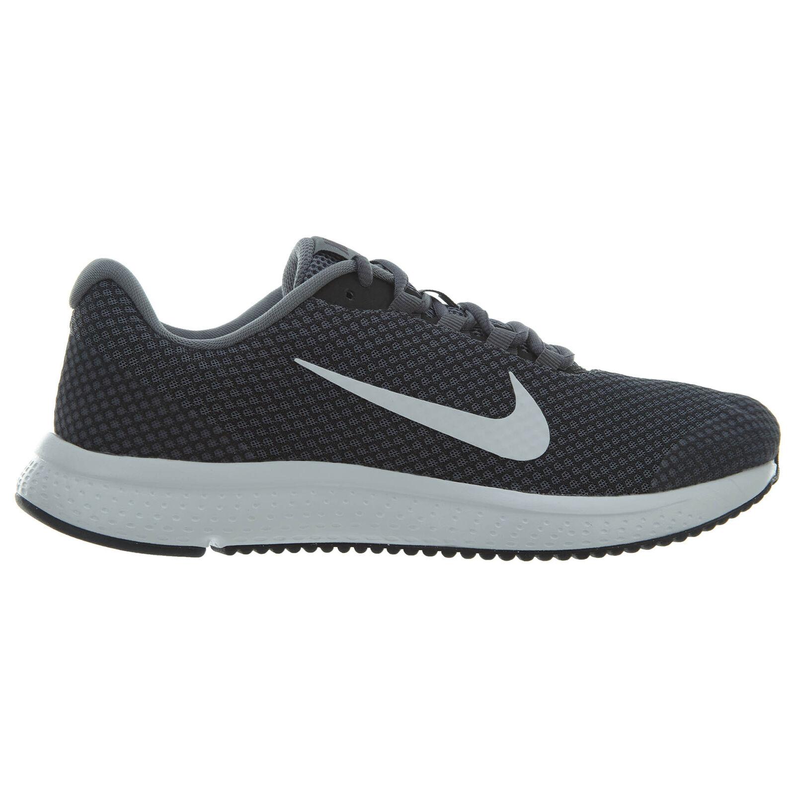 Nike Runallday Mens 898464-013 Cool Grey Mesh White Running shoes Size 8