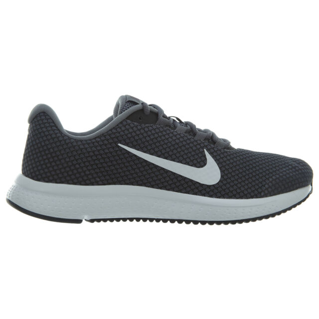 17a20799f5a Frequently bought together. Nike Runallday Mens 898464-013 Cool Grey Mesh  White Running Shoes ...
