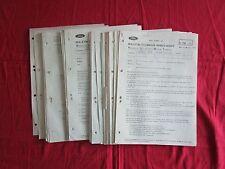 FORD : 40 bulletins techniques aprés vente   1975-1980  Transit série A et diver