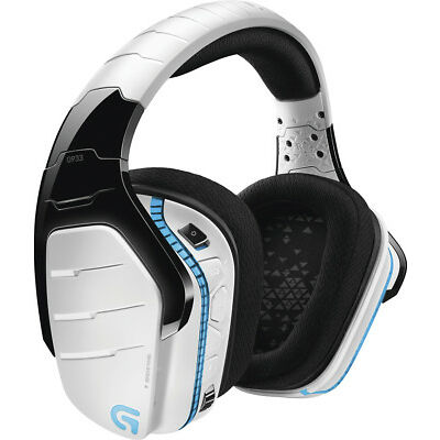 Logitech - G933 Artemis Spectrum Gaming Headset - White