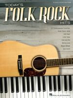 Today's Folk Rock Hits Sheet Music Piano Vocal Guitar Songbook 000130448