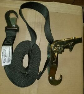 """1 3//4/"""" x 10/'  *FREE SHIP* Military Surplus Ratchet Strap Tie Downs TWO PACK"""
